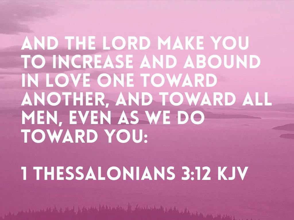 Praise Justified By Love
