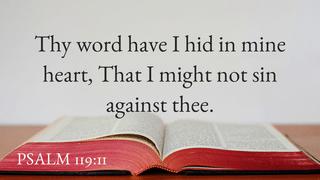 Psalm 119-11