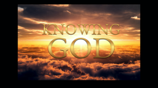 Knowing God Title Center