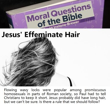 Jesus Effeminate Hair
