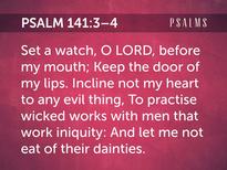 Psa 141-3-4