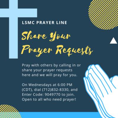 Beige Praying Illustration National Day Of Prayer Social Media Graphic