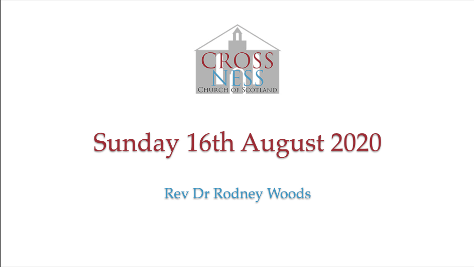 Sunday 16th August 200