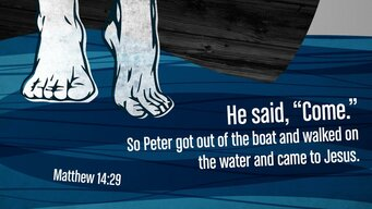 Matthew 14 29