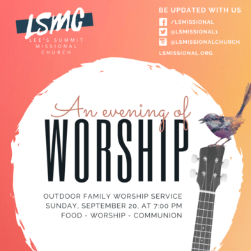 Copy Of Copy Of Worship Church Flyer