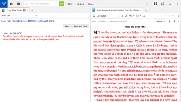 Copy Bible Verses