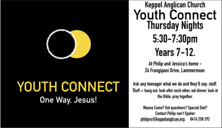 Youth Connect Flyers