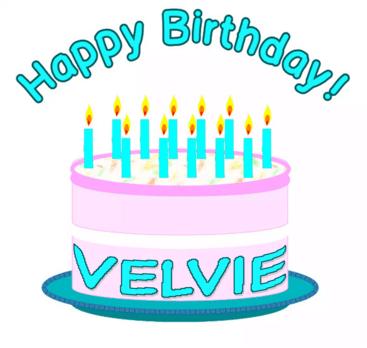 Happy Bday Velvie