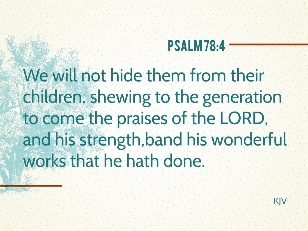 Praise's Progeny