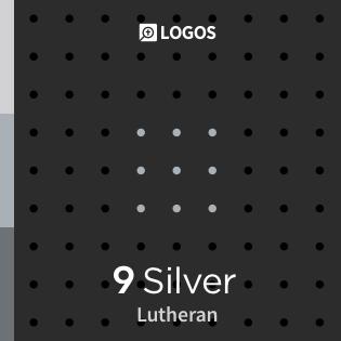 Logos 9 Lutheran Silver