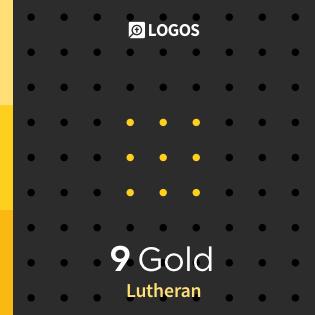Logos 9 Lutheran Gold