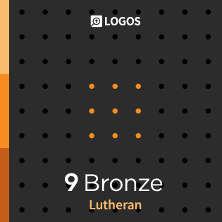 Logos 9 Lutheran Bronze