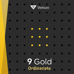 Verbum 9 Ordinariate Gold