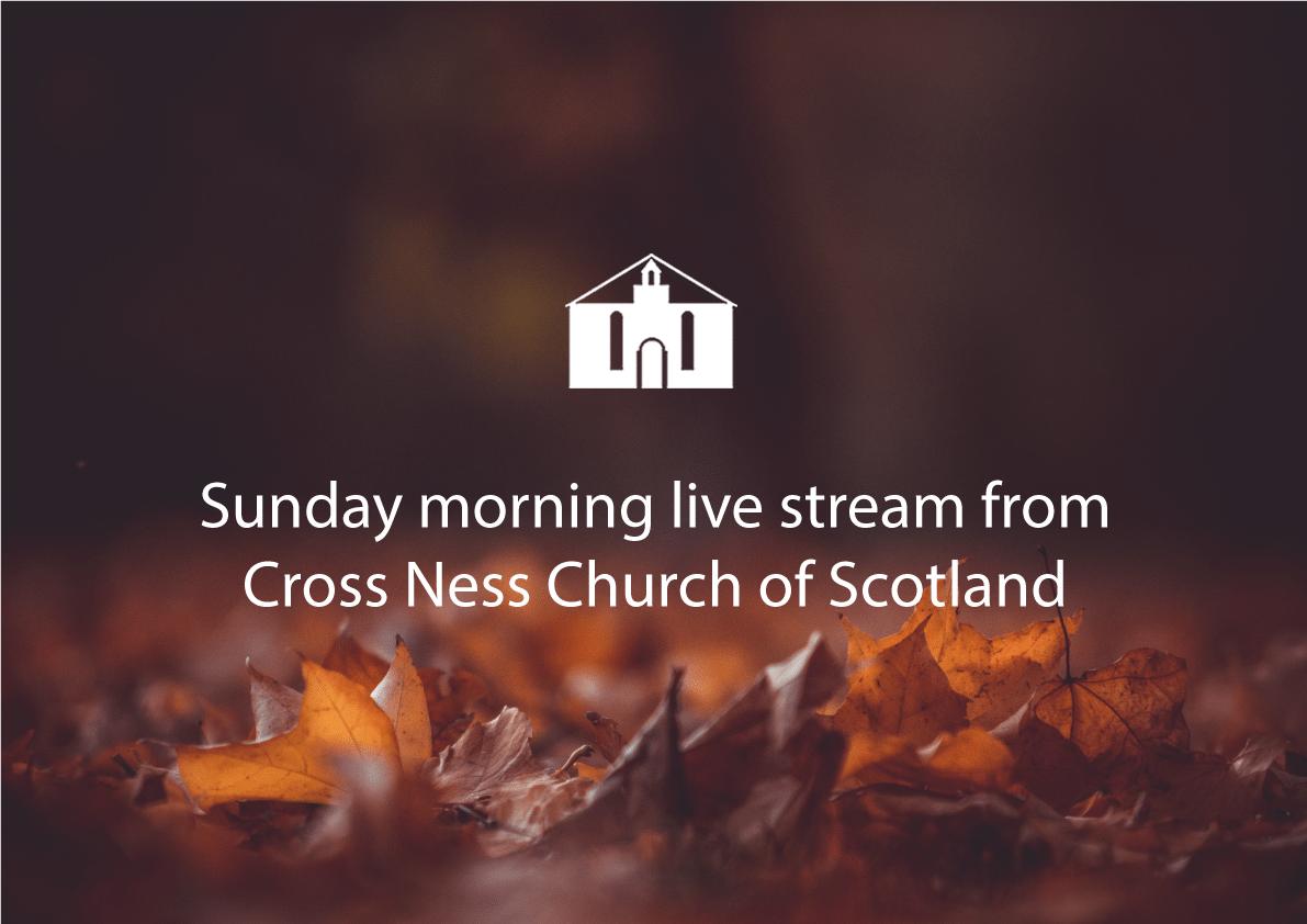 Sunday 13th September livestream service