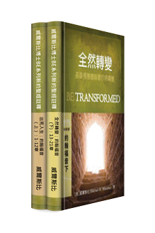 威爾斯比博士BE系列新約聖經註釋叢書:約翰福音上下(2本) Warren Wiersbe BE Series NT Commentaries Collection-The Gospel of John (2 Vol)