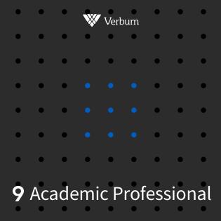 Verbum 9 Academic Professional