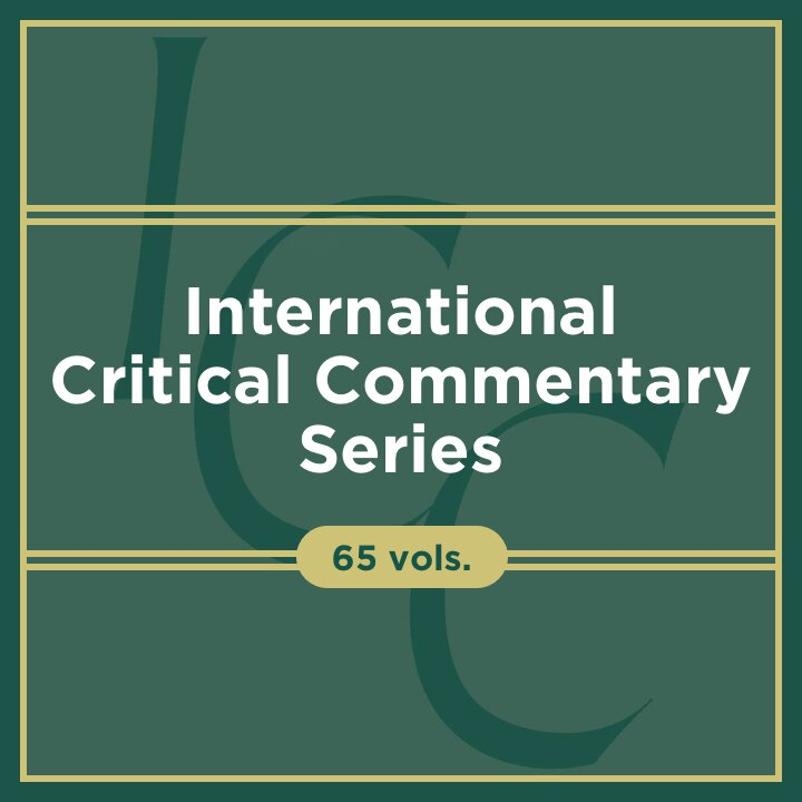 International Critical Commentary | ICC (65 vols.)