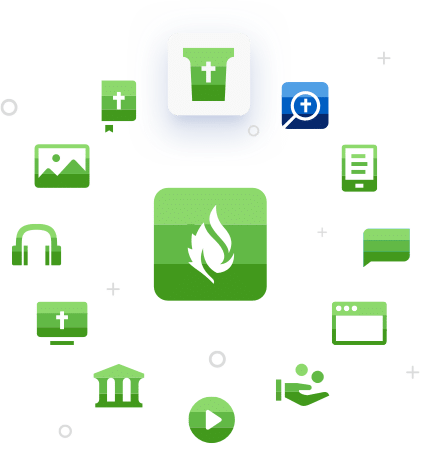 Faithlife Sites icon collage