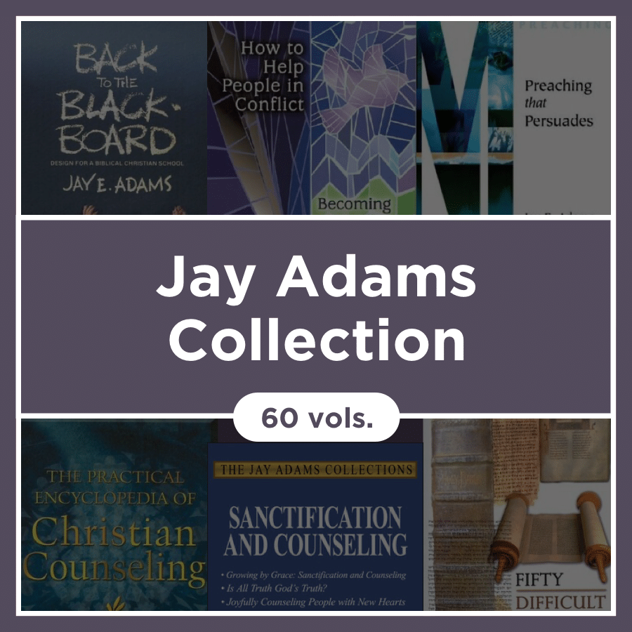 Jay Adams Collection (60 vols.)