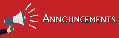 Announcements Megaphone Reddish