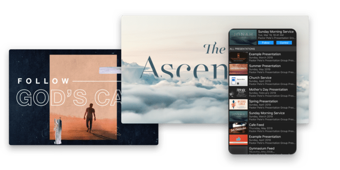 Proclaim is showing beautiful media designed specifically for churches.