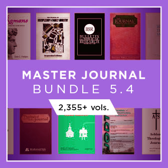 Master Journal Bundle 5.4 (2,355+ vols.)