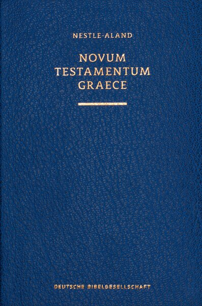 Nestle-Aland Greek New Testament, 28th Edition, with Critical Apparatus (NA28)