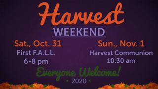 Harvest Weekend