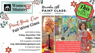 This Or That Wine Glass Class
