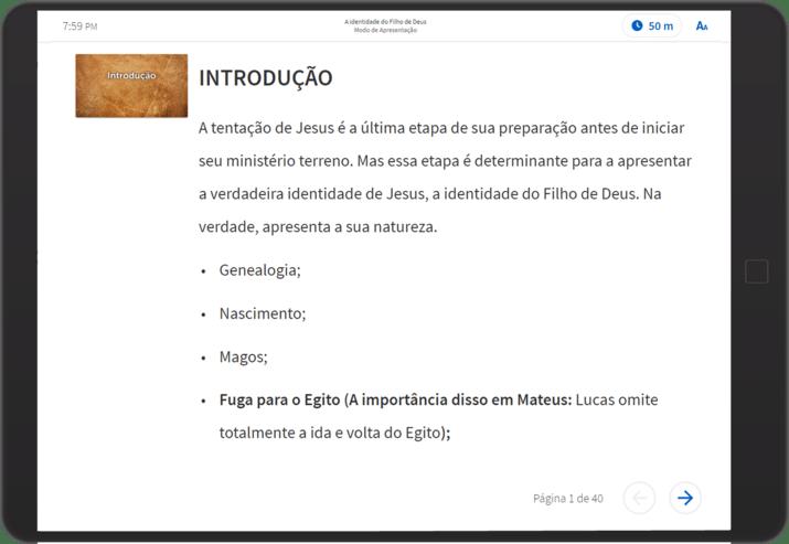 Logos Modo de Pregação screen shot