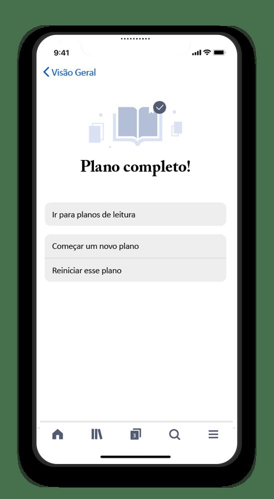 Smart Phone with Planos de Leitura