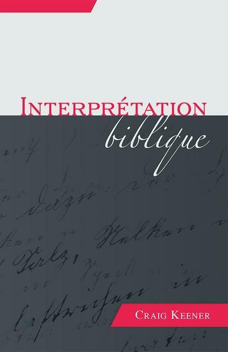Interprétation biblique