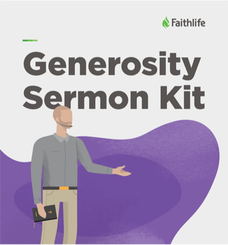Generosity Sermon Kit
