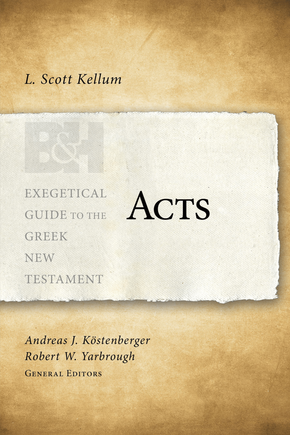 Acts (Exegetical Guide to the Greek New Testament)