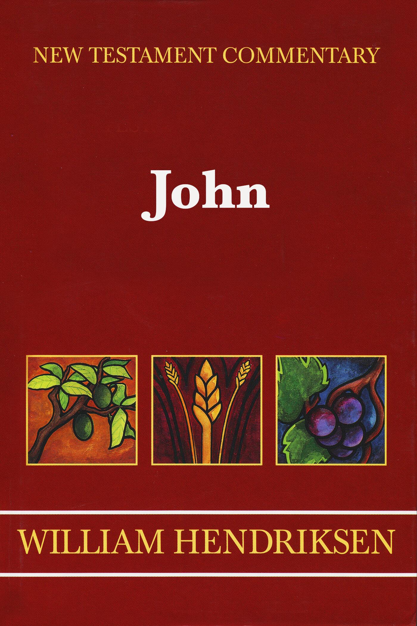 John (Hendriksen & Kistemaker New Testament Commentary | HK)