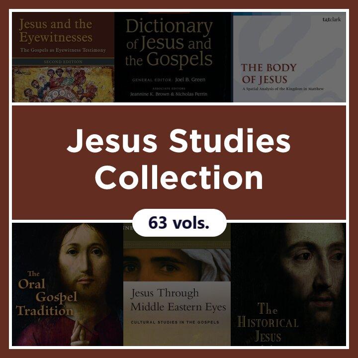 Jesus Studies Collection (64 vols.)