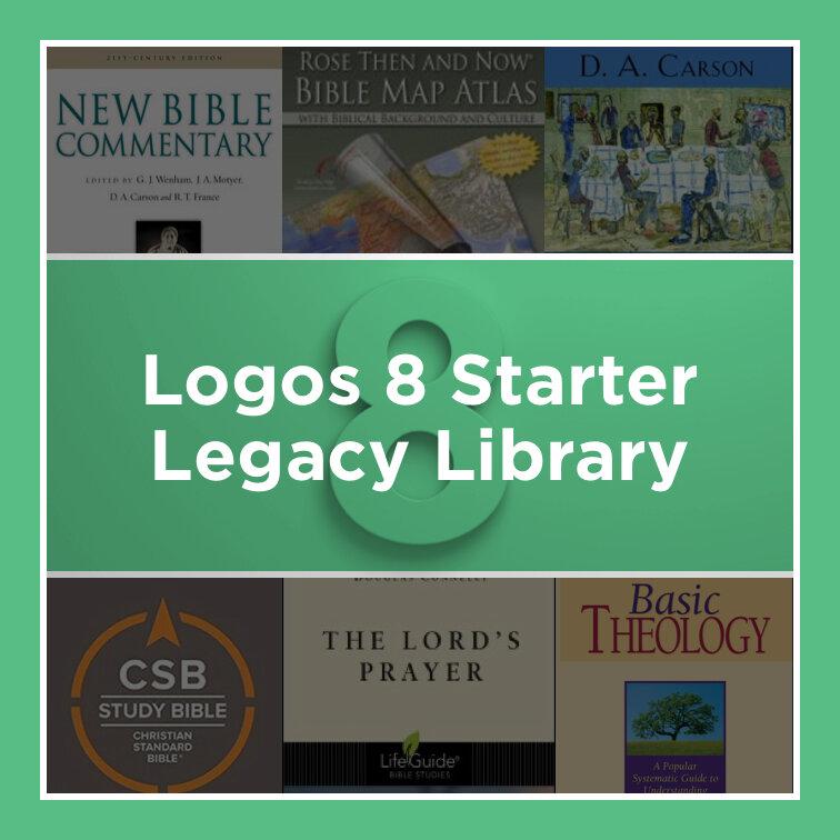 Logos 8 Starter Legacy Library