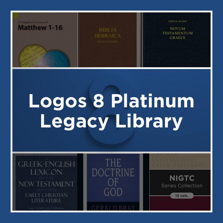 Logos 8 Platinum Legacy Library