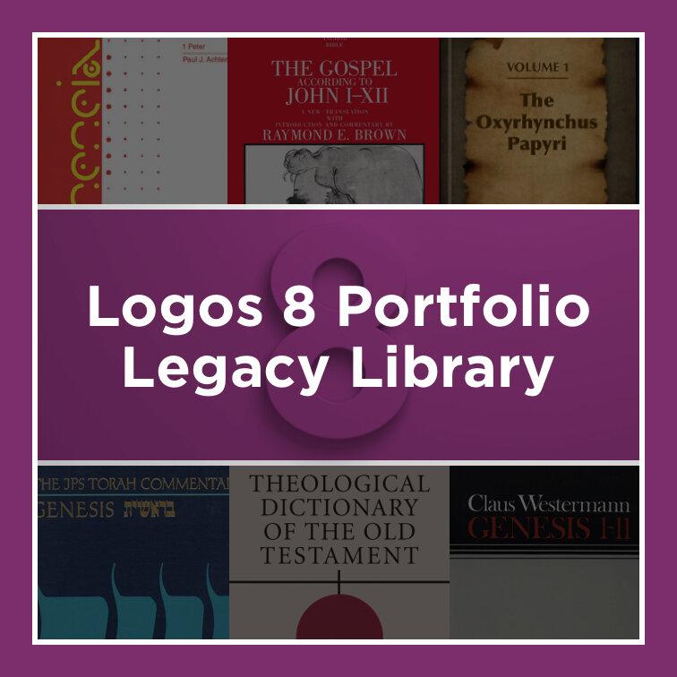 Logos 8 Portfolio Legacy Library