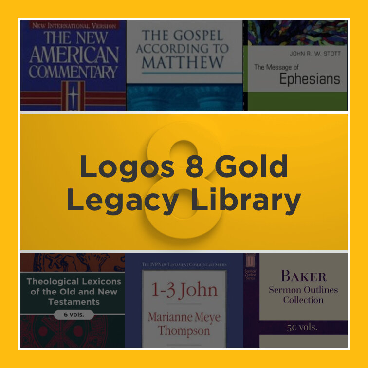 Logos 8 Gold Legacy Library