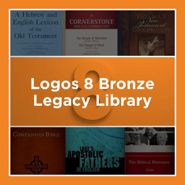 Logos 8 Bronze Legacy Library