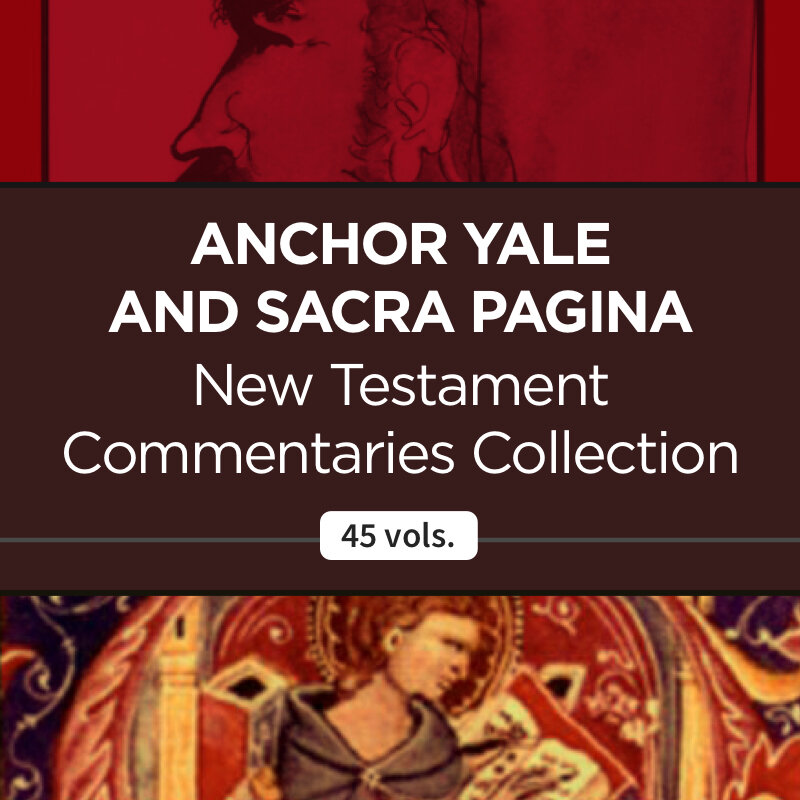 Anchor Yale and Sacra Pagina New Testament Commentaries Collection (45 vols)