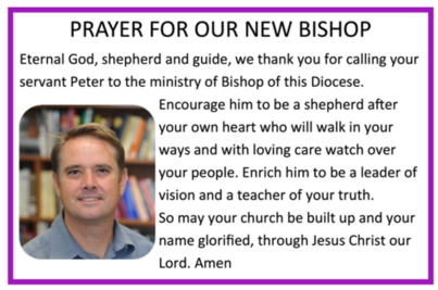 Prayer New Bishop