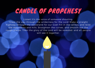 Candle of propehesy