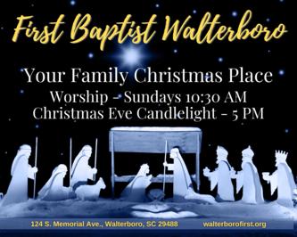 First Baptist WalterboroNativity