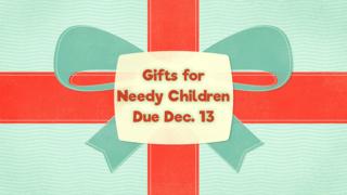 Needy Children's Gifts