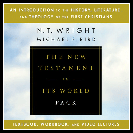 The New Testament In Its World Pack: Textbook, Workbook, and Video Lectures