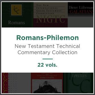 Romans-Philemon, 22 vols. (New Testament Technical Commentary Collection)