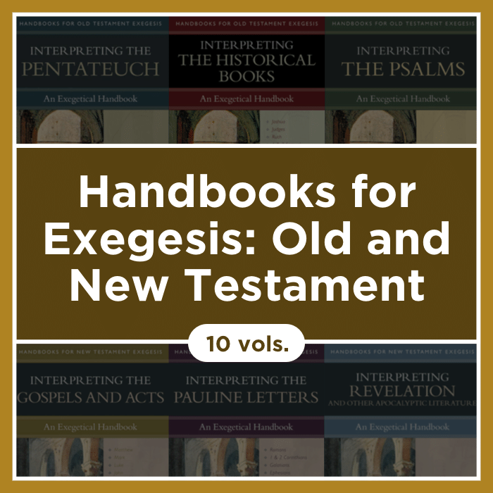 Handbooks for Exegesis: Old Testament and New Testament | HOTE/HNTE (10 vols.)