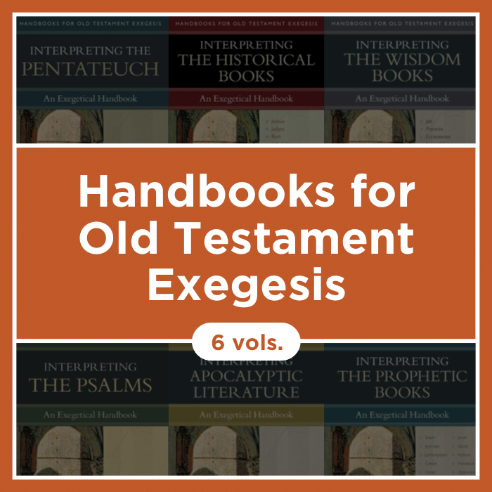 Handbooks for Old Testament Exegesis | HOTE (6 vols.)
